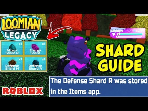 How To Get and Use Shards in Loomian Legacy (Roblox) - What Happens