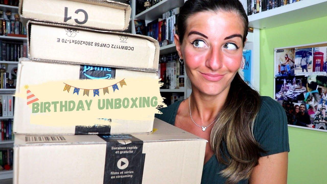 BIRTHDAY UNBOXING | Spacchettiamo insieme i regali di compleanno 🎉🎁