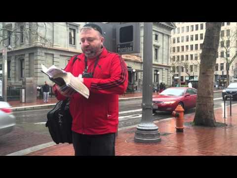 Portland downtown outreach-1.Igor and a team.03-11-2016.