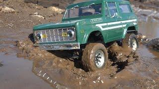 Тест-драйв в гряземесе RC4WD 1/18 GELANDE II