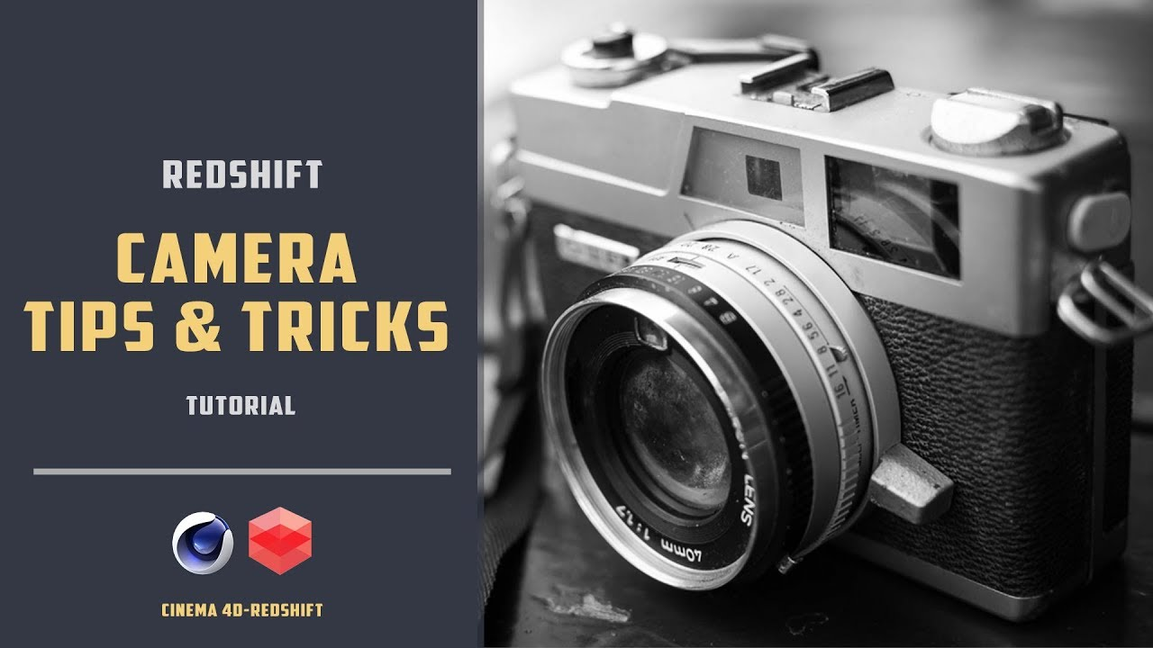 Camera Tips and Tricks with Redshift for CINEMA 4D - Toolfarm