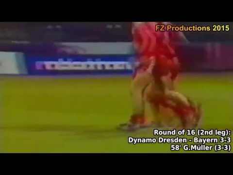 1973-1974 European Cup: FC Bayern Munich Goals (Road to Victory)