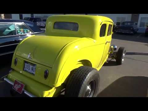 Nebraska Rod and Customs (NRCA) Tour Nebraska 2018