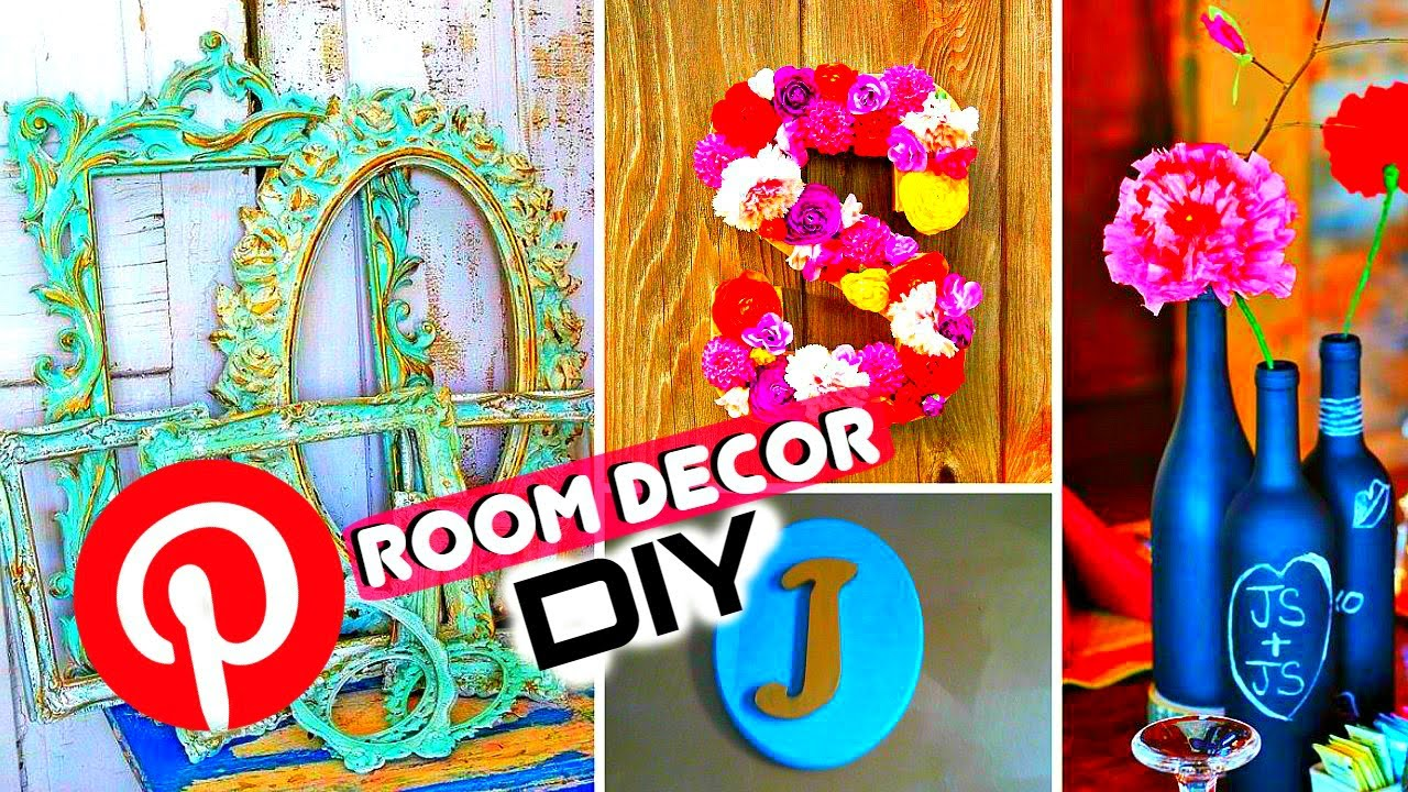 diy room decor for cheap pinterest tumblr inspired youtube - Pinterest Room Decor
