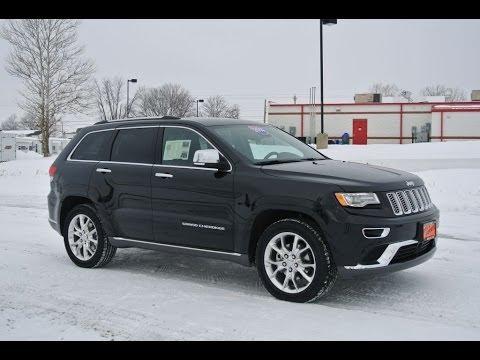 2014 Jeep Grand Cherokee Summit Black For Sale Dealer Dayton Troy