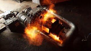 Вертолетный двигатель ГТД-350 - решил дать огня...