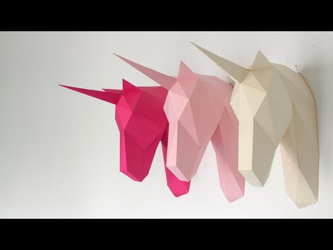 2diy Unicorn Heads How To Make With Mirror Ikea Hack Free Template Dollar 2017