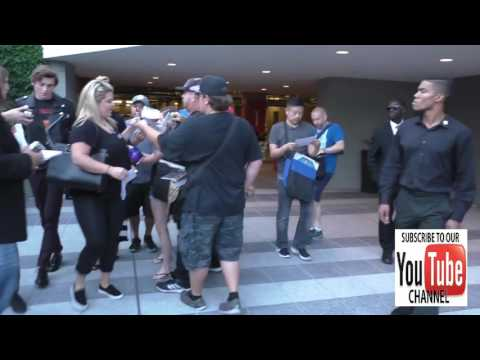 Peyton List greets fans outside the Variety's Power Of Young Hollywood at NeueHouse Hollywood