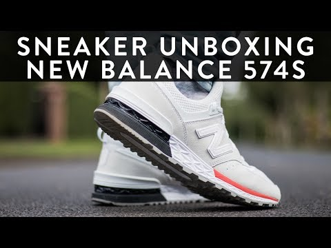 size 40 f0661 cfc13 New Balance 574s (Sport)| Sneaker Unboxing | On Feet ...