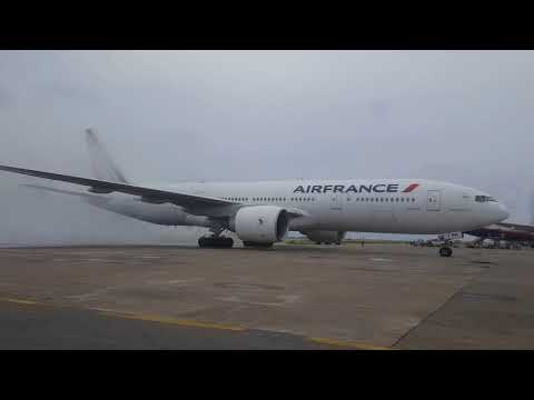 Welcome Air France to Velaanaa International Airport (MLE) Maldives