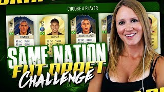 ONE NATION FUT DRAFT CHALLENGE! FIFA 18 ULTIMATE TEAM