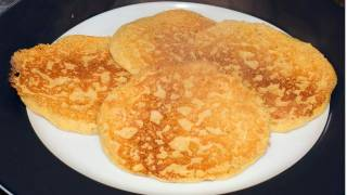 Makai Cheela or Chilla | Corn Pancakes - Video Recipe - Gluten free recipes