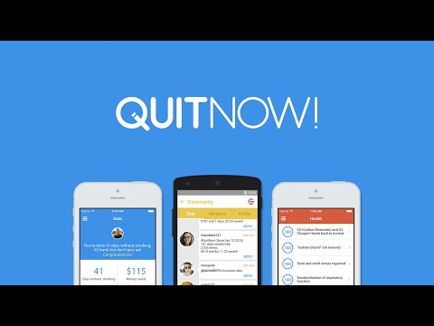 QuitNow! Quit smoking with your phone