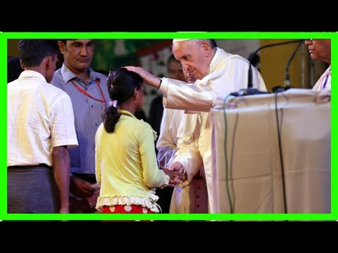 News today-Pope francis apologized to count for the world's apathy