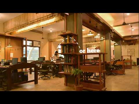 Unboxed Co working by Chaukor Studio, at NOIDA