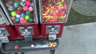 5 Candy Coin Operated Vending Machines For Sale