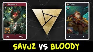 Savjz Vs Bloody — Artifact First Open Tournament