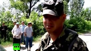 Война видео Бои в Донецкой области Первые потери ВСУ