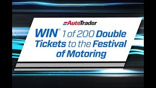 WIN 1 of 200 double tickets to the SA Festival of Motoring!