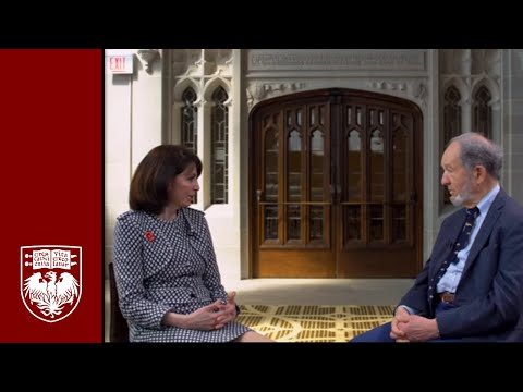 Jared Diamond and Prof. Shadi Bartsch-Zimmer discuss religion