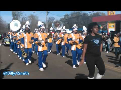 Velma Jackson High School Marching Band - 2016 Martin Luther King Parade (Kenneth Stokes)