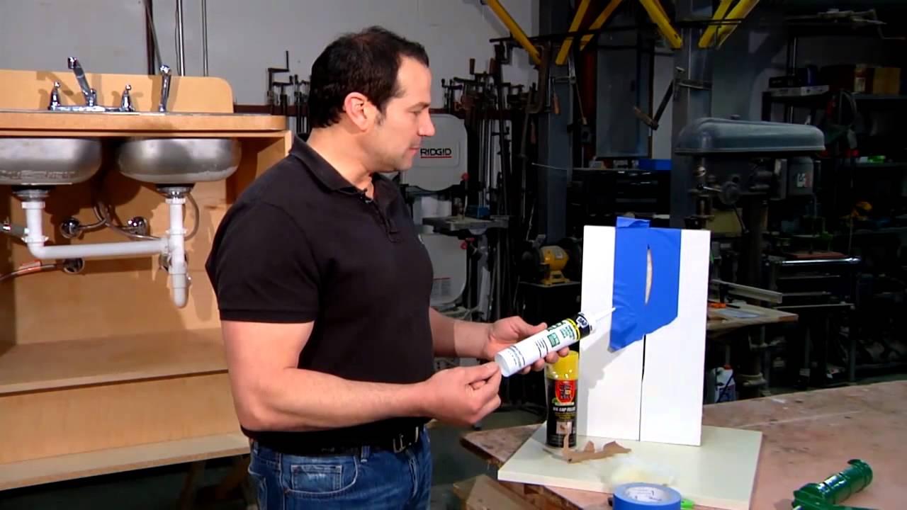 Tips For Caulking Trim Tips On Caulking Wide Gaps Home Sweet Home Repair Youtube