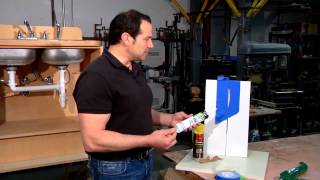 Tips on Caulking Wide Gaps : Home Sweet Home Repair