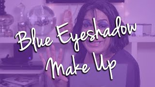 Blue Eyeshadow Makeup Tutorial Thumbnail