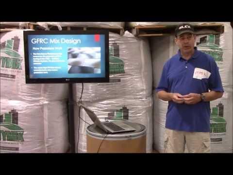 Trinic GFRC Class Lecture - Glass Fiber Reinforced Concrete