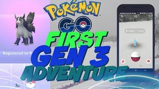 GENERATION 3 HAS ARRIVED IN POKEMON GO (In a blizzard)