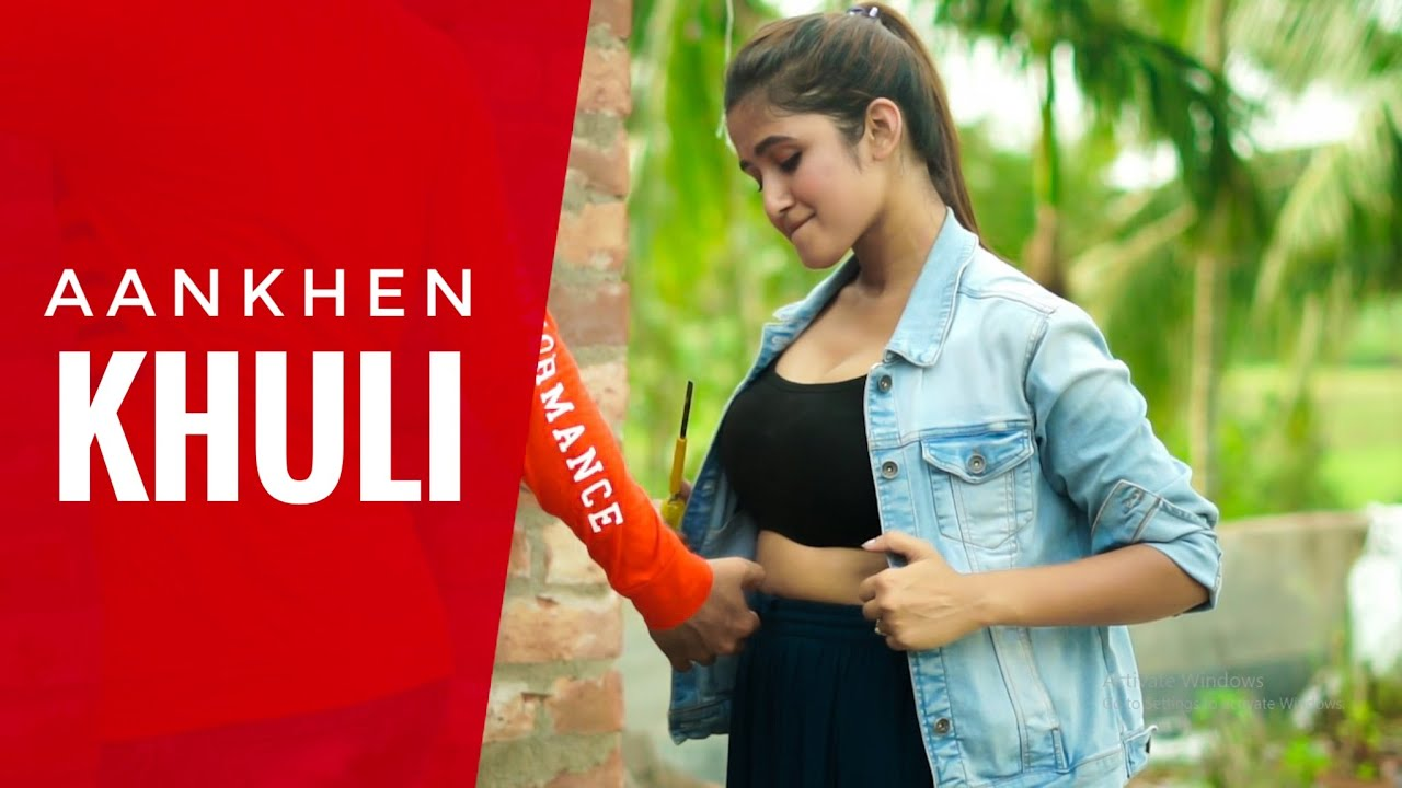 Aankhein khuli ho ya band  Mohabbatein Cute Romantic Love Story 2020 Hindi Song  Brightvision