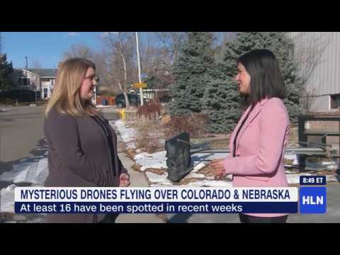 Mystery drones fill Colorado night skies