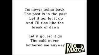 믹시앤매치/MIX AND MATCH-B.I. TEAM - LET IT GO 가사/LYRICS