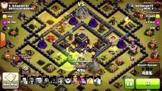 Clash of Clans Episode #29: VALKYRIE 3 Star vs Max Th9 (Govahowi?)