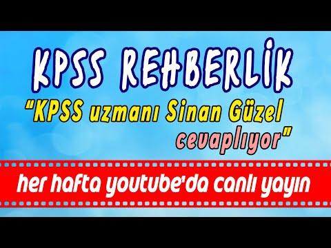 KPSS uzmanı Sinan GÜZEL ile 2018-2 ve 2019/1 KPSS Atamaları Analizi. www.kpssrobotum.com