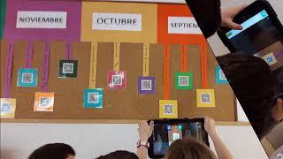 Tablets y QR: LÍNEA DEL CURSO 2017/18