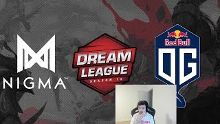 Nigma (ex Liquid) vs. OG Seed - DreamLeague Season 13 Europe Open Qualifier BO3 RU @4liver