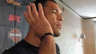 UFC 110 interview w/ MMA legend Minotauro Nogueira part 1