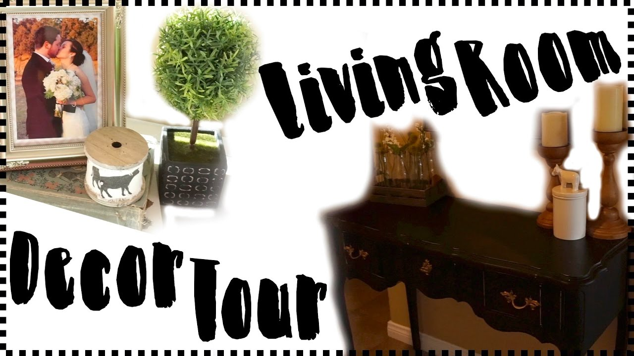 living room decor 2017 farmhouse style home decor youtube