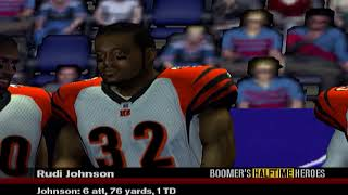 RUDY JOHNSON CANT BE STOPPED - ESPN NFL 2K5 BILLS FRANCHISE VS BANGELS S4W5