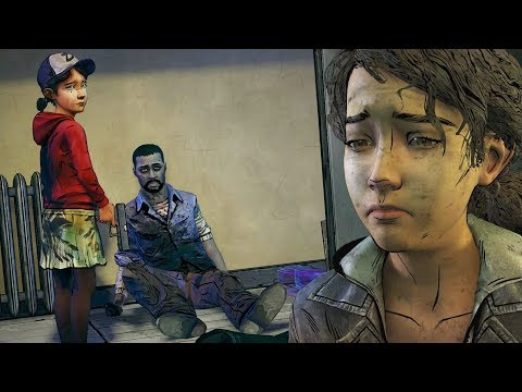 Clementine Tells AJ How She Shot Lee -All Dialogues- The Walking Dead The Final Season