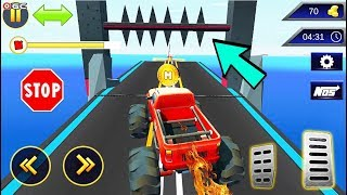 Ramp Mountain Stunt Climb LV12 17 - 4x4 Monster Truck Race Games - Android Gameplay Video #3