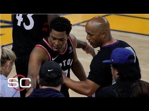 Your Morning Show - Raptor's Player pushed by Warriors Owner