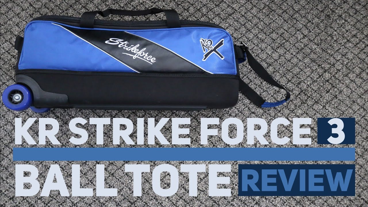 KR Strike Force 3 Ball Tote Review