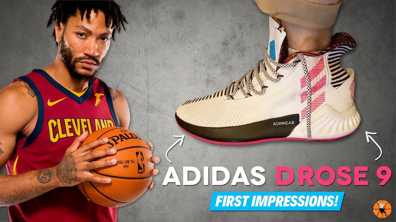 adidas D ROSE 9 LEAK   FIRST IMPRESSIONS! - YouTube 19235a5f7