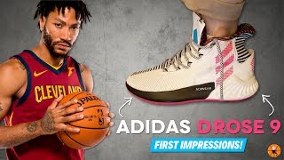 adidas D ROSE 9 LEAK & FIRST IMPRESSIONS!
