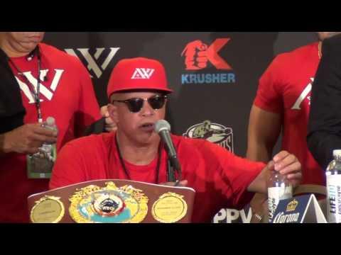 Andre Ward vs. Anthony Joshua?  Virgil Hunter likes the idea
