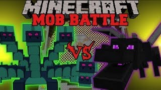 ENDER DRAGON VS HYDRA - Minecraft Mob Battles - Arena Battle - Twilight Forest Mod Battles
