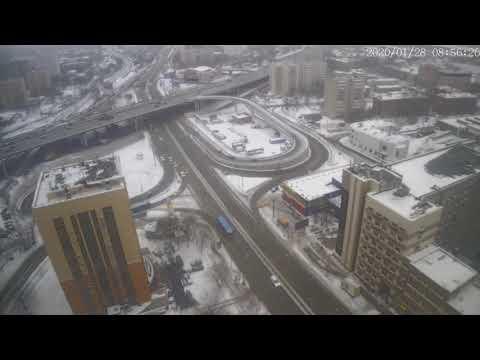 Москва - Нижегородская улица - веб камера 28.01.2020, 05:56