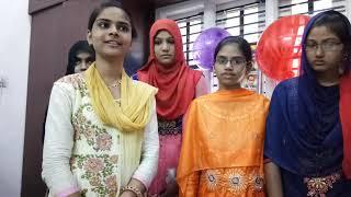 Kadiri Santhineketan School 10th Class Toppers With Correspomdent Momin Saleem Basha